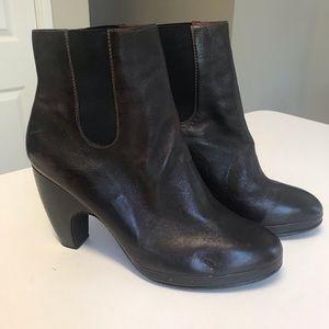 Rachel Comey Shoes - Rachel Comey Dark Brown High Heel Ankle Booties